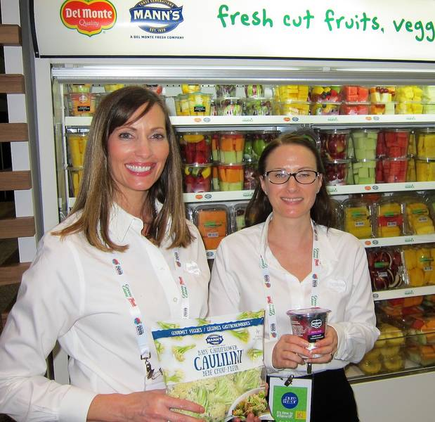 Loree Dowse and Rebecca Gautrey Del Monte Fresh Produce