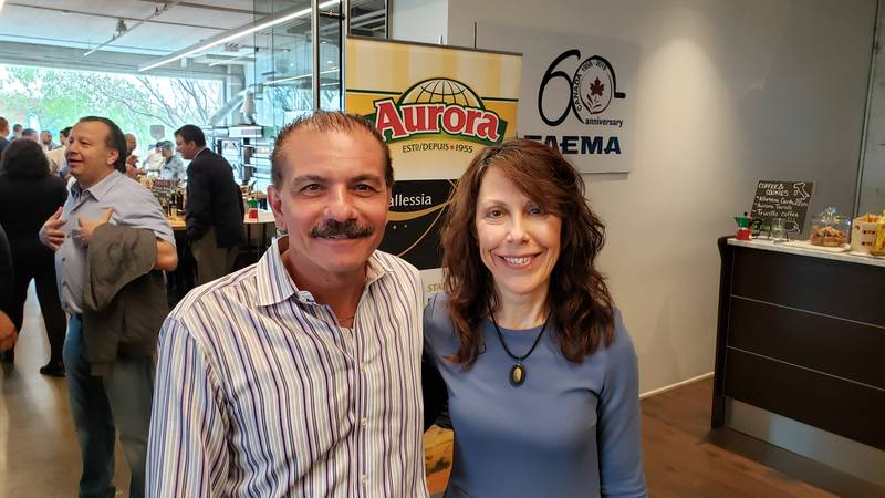 Paul Del Duca, retired, formerly with Walmart Canada and Mary Scianna, Grocery Business