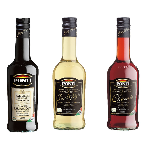 Ponti family wine vinegars