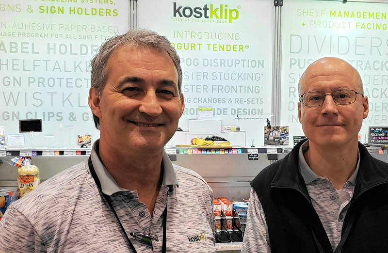 Ric Locke and Bill Goehring of Kost Klip