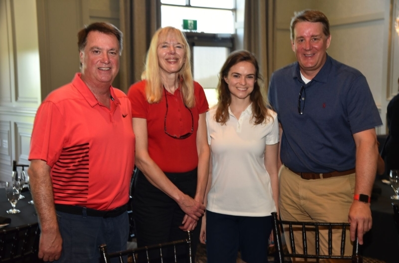 The Carlton Cards Limited Team: Rod Sturtridge, Elizabeth Chmielewski, Brittany Ford and Brad Van Laare