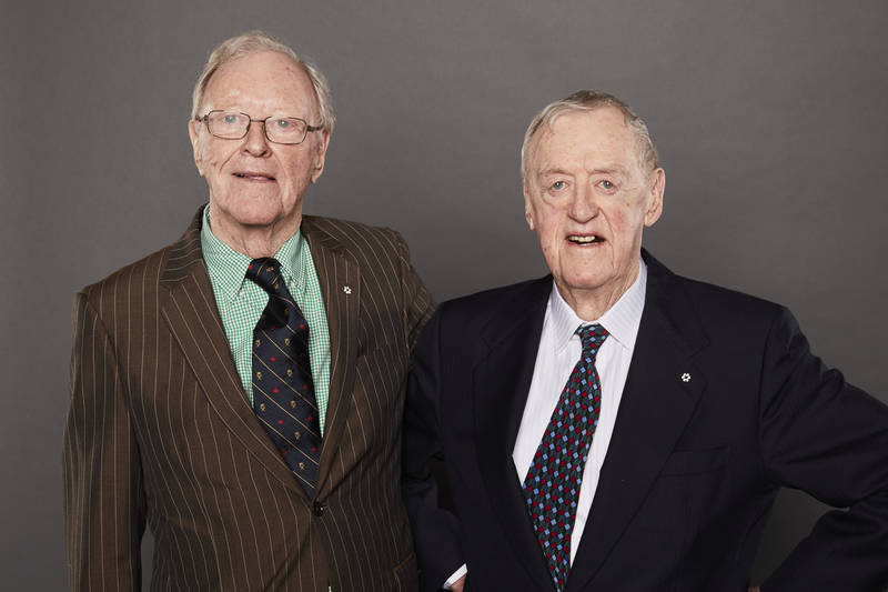 Donald and David Sobey received the Lifetime Achievement Award for their contributions to the grocery industry in Canada