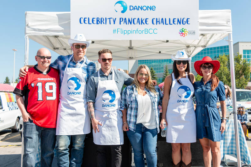 July 12 Celebrity Pancake Challenge