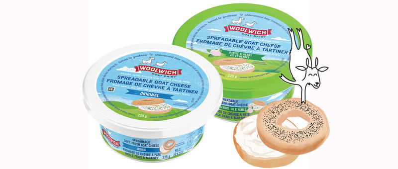 Woolwich Dairy Spreadable Goat Cheese