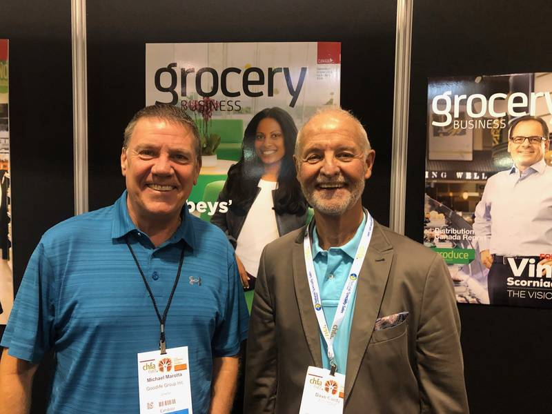 L to R: Mike Marotta, Interfresh Sales Marketing; Dave Cardy, A.S. May