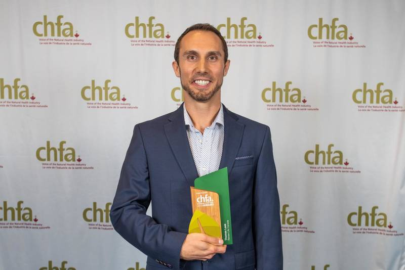 Thomas Leek, Renew Life recipient - for the 5th time - of the CHFA Excellence in Field Sales Award