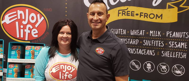 Courtney Stone and Franco Vieni of Enjoy Life Foods