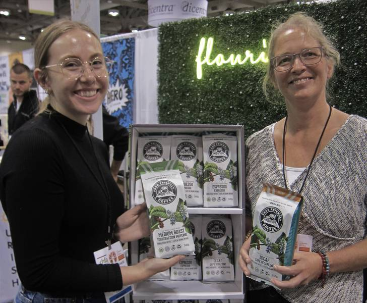 Emma MacDonald (left) and Karla Ferster, Frog Friendly Coffee