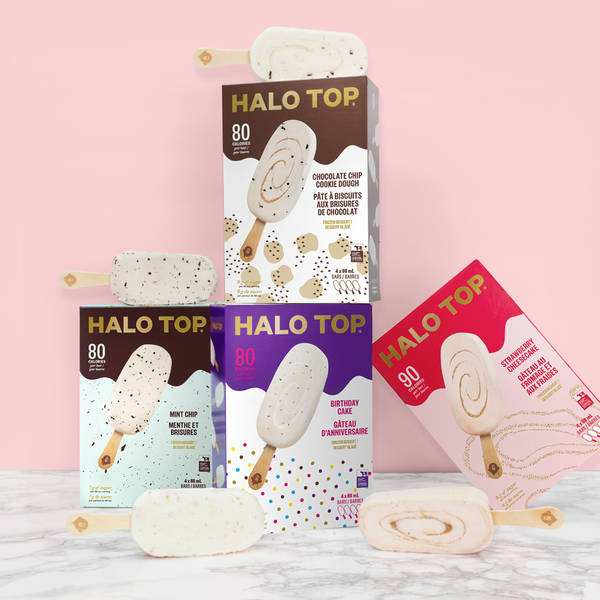 Halo Top bars