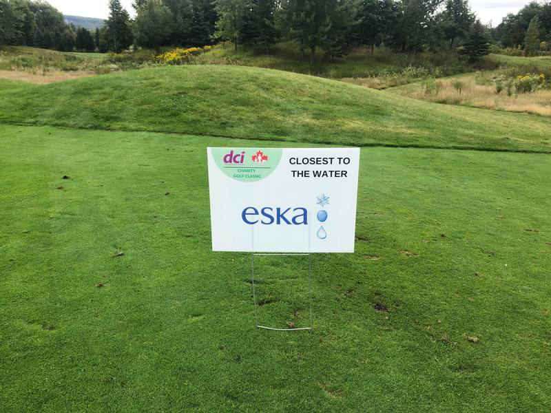 The DCI & CFIG 2019 Charity Golf Classic - Eska was a Silver Sponsor