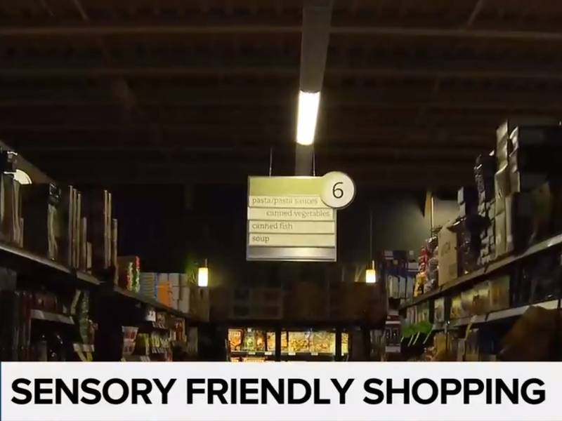 Sobeys sensory friendly shopping