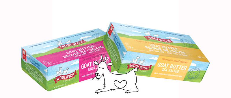 Woolwich Dairy Goat Butter