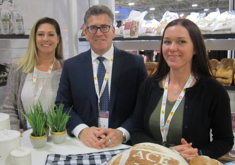 L to R: Amanda James, Jeff O'Neill and Denise Hunter, Weston Foods
