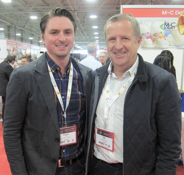 Andrew (left) and Peter Cavin, Country Grocer