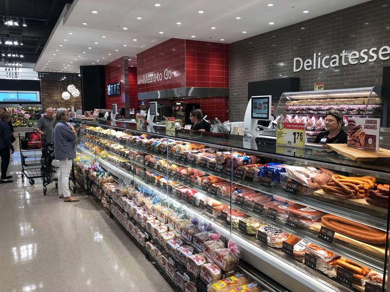The deli selection