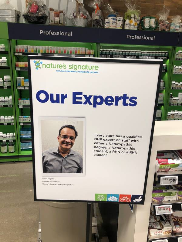 Metro showcased its in-store naturopathic health expertise