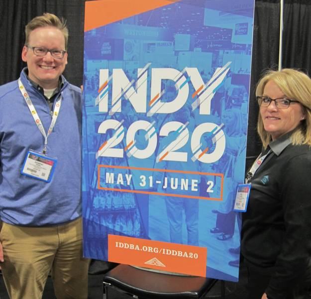 Jonathan Whalley and Kelly Campbell, IDDBA
