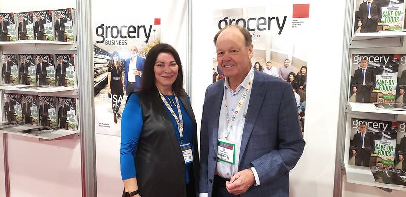 Karen James, Grocery Business and John F. T. Scott
