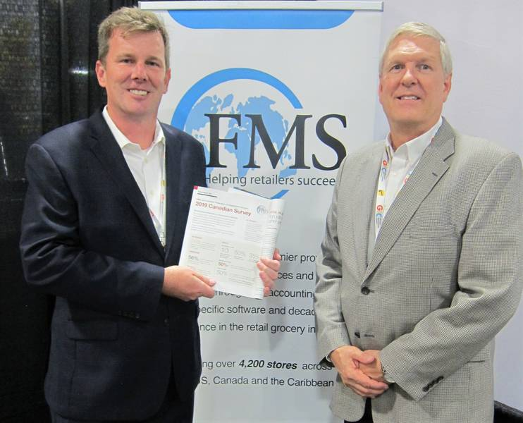 Robert Graybill (left) and Stan McClintock, FMS Solutions