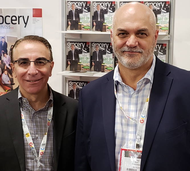Sal Galle (left) and Paul Bravi of Food Basics