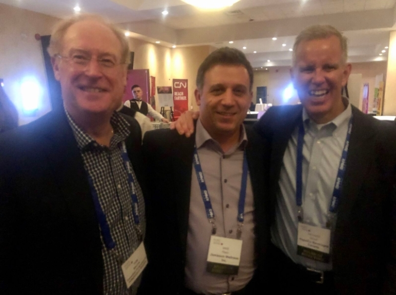L to R: Tom Shurrie, CFIG; Mike Pilato, Jamieson Wellness; Richard Glover, PepsiCo Beverages