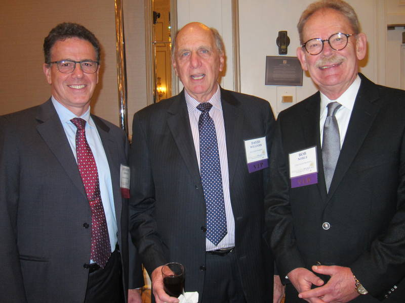 Anthony Longo, Longos and former Golden Pencil Award winners David Williams and Bob Noble