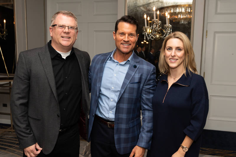 From left: Scott Lorimer, Maple Leaf Foods; Brent Falvo, Clorox; Cara Keating, PepsiCo