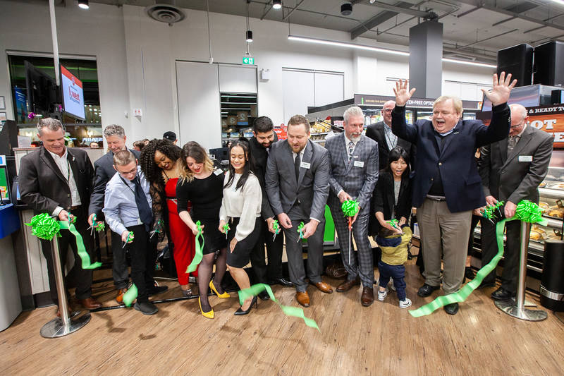 Save-On-Foods' Steveston store ribbon cutting