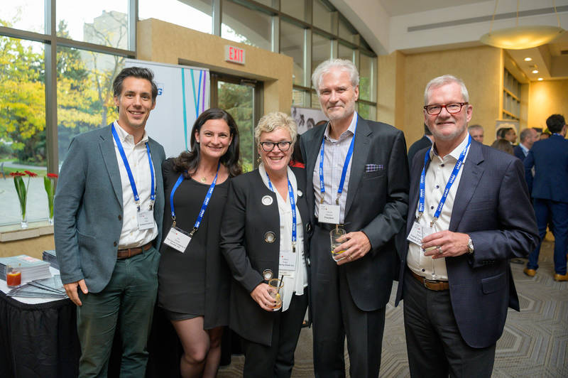 L to R: Todd Fisher, Kimberly-Clark; Ali Davies, Clorox Co. of Canada; Carla Anger, Kimberly Clark; Colin Glaysher, Colin Glaysher & Associates; Michael Graydon, FCPC
