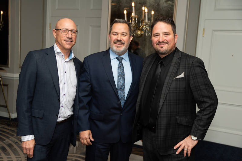 Ben Santangelo, Advantage Solutions; Kevin Hayes, United Grocers Inc.; and Errol Cerit, Food and Consumer Products of Canada