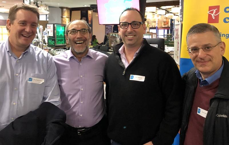 Brad Van Laare, Carlton Cards; Jim Slomka, Grocery Business ; Mike Rinaldi and Gino Gervasi, Loblaw