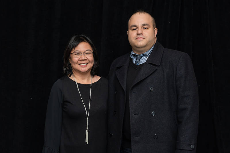 Brenda Seto, consultant, and Kasra Rad, Wm. Dunne Associates