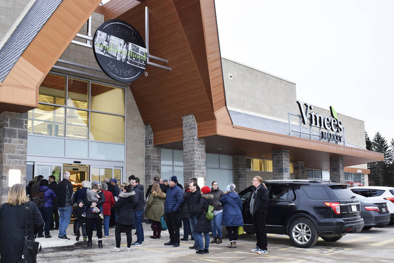 Grand Opening of Vince's Market in Sharon, Ont.