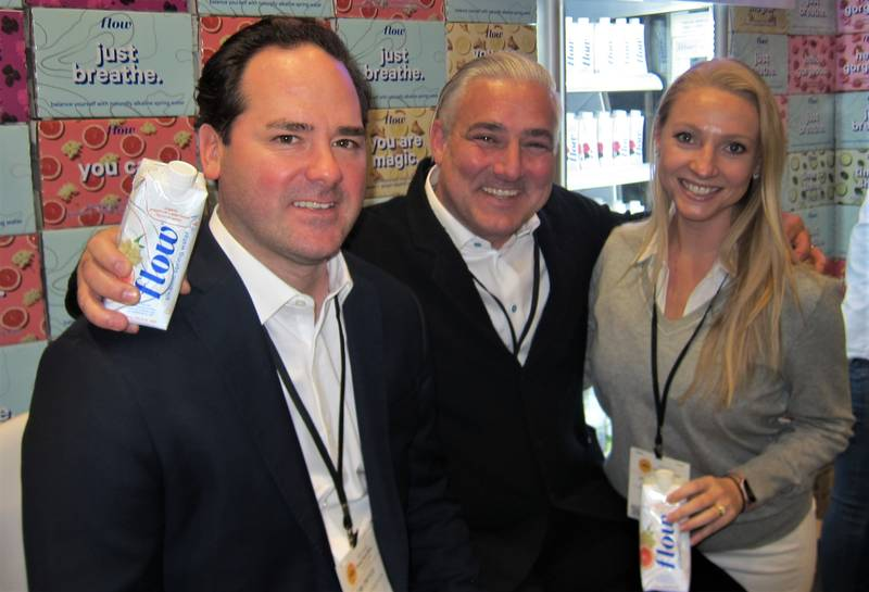 Timothy Dwyer, Nicholas Reichenbach and Penny Valdes, Flow Alkaline Spring Water
