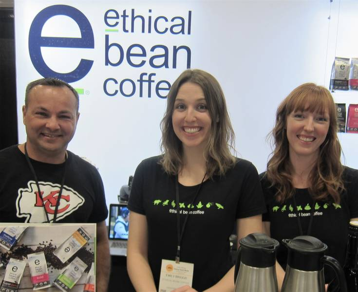 Viren Malik, Emily Briggs and Stephanie Ray, Ethical Bean Coffee