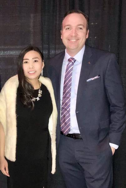 Elaine Poon, Clorox and Russell Dudley, Nestlé Purina