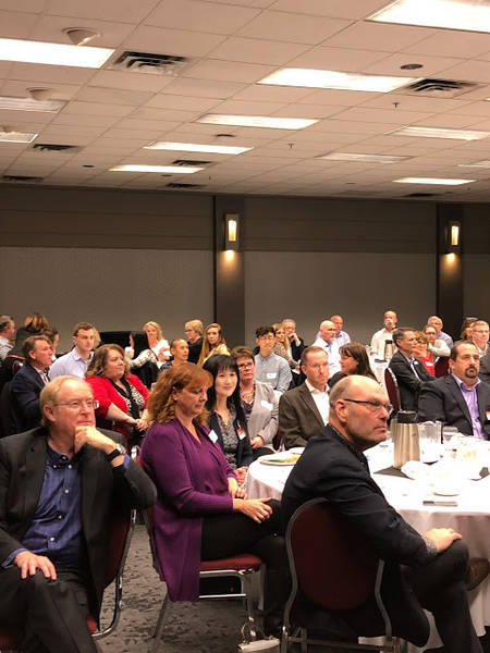 Attendees at the Calgary Food and Drug Executive event