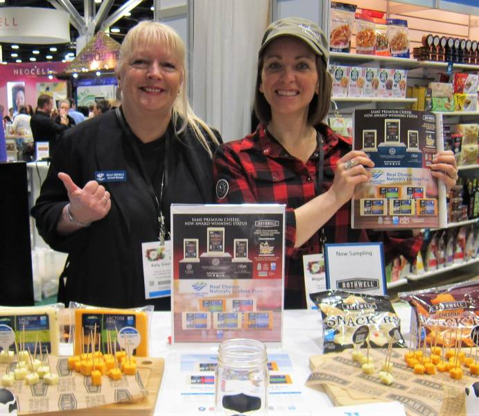 Kelly Greville, Paradise Island Cheese and Megan Deaust, Bothwell Cheese