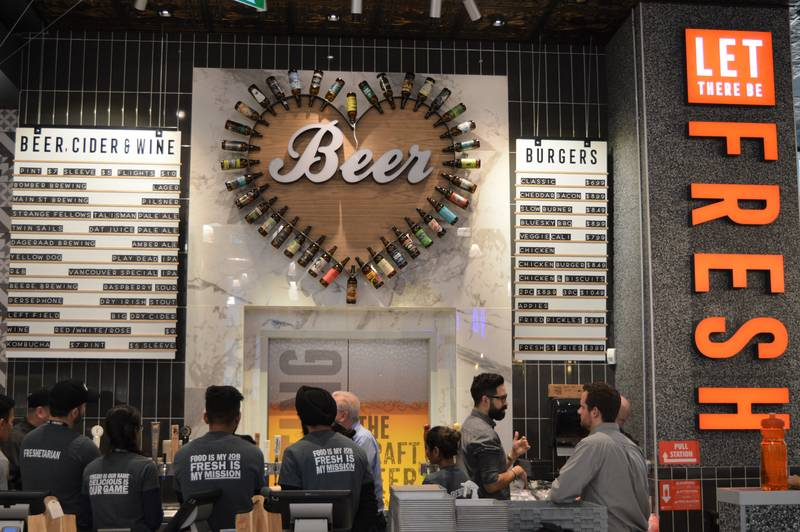 Vancouver House Fresh St Market Let There Be Fresh Craft Beer Restaurant menu 2020