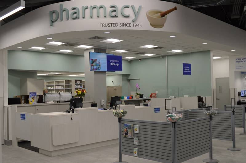 Vancouver House London Drugs Pharmacy counter