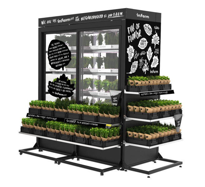 Empire partners with infarm for in-store vertical farming offerings