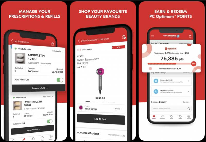 Shoppers Drug Mart launches new mobile app