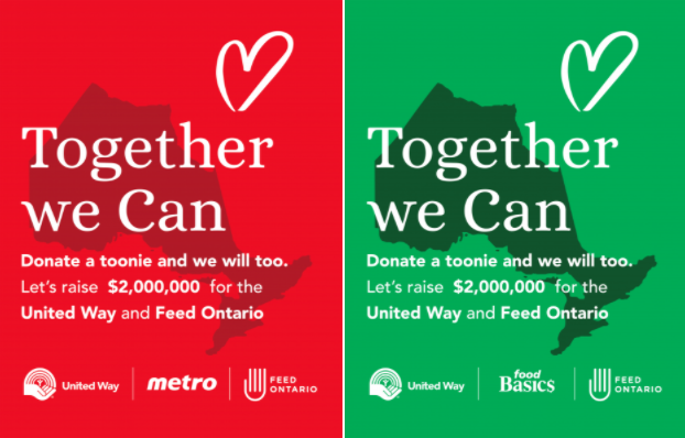 Metro and Food Basics Together We Can campaign