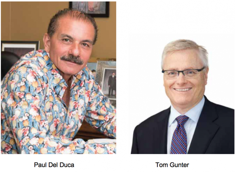 Paul Del Duca and Tom Gunter join Paygos Advisory Board