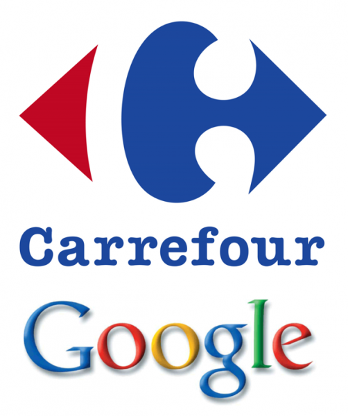 Carrefour and Google