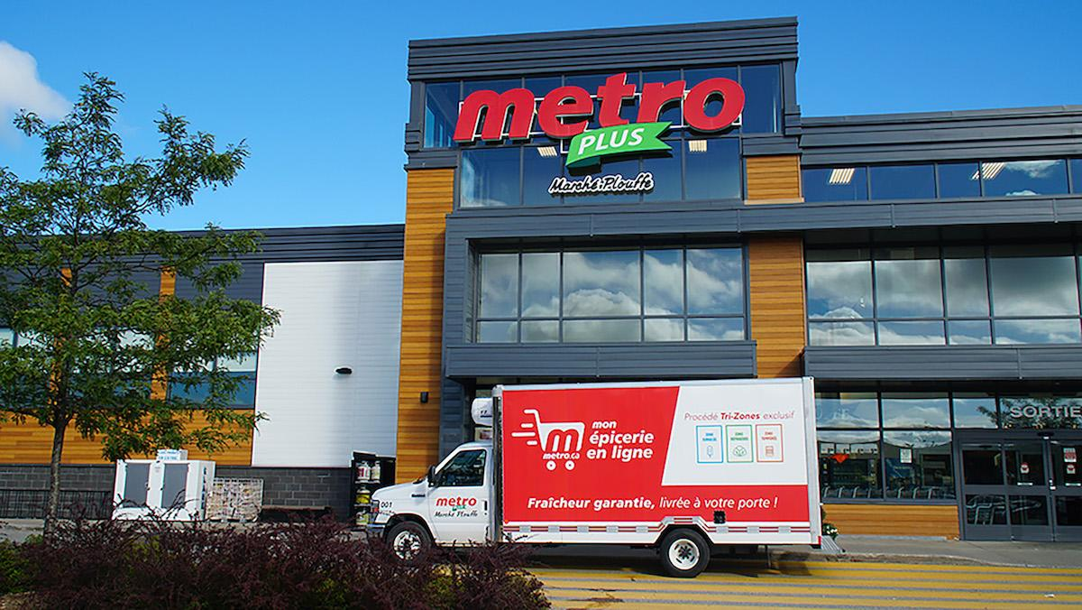 Metro expands online grocery delivery service in Quebec