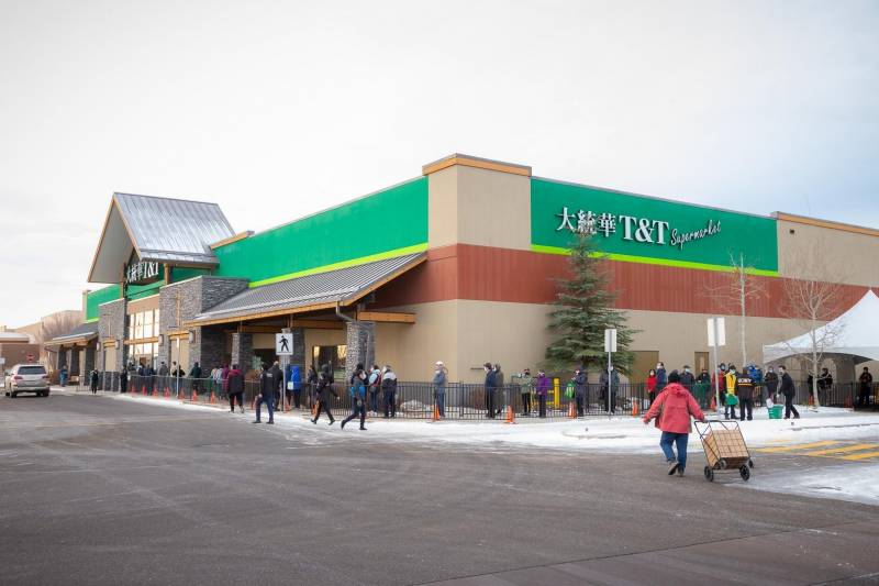 T&T Supermarket Calgary expansion