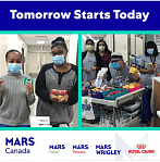 Mars commitments by its Canadian businesses. Image from Jeremy Daveau, general manager of Mars Wrigley Confectionary