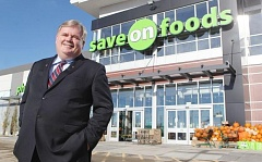 Darrell Jones, president of Save-On-Foods