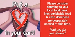 Heart in your cart Fortinos campaign